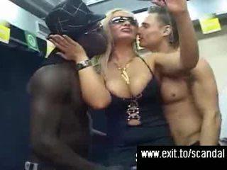 Público sexo disorder en etapa y camerino vídeo