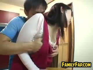 Sexy japonais étape mère