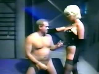 blondīnes, big boobs, femdom