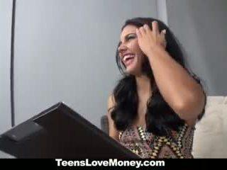 Teenslovemoney - Sexy Latina Fucked fo...