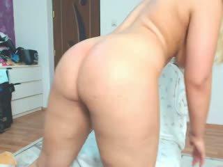 blonde, cururi mari, anal