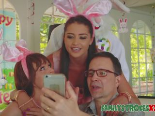 Easter coniglietta fucks arrapato giovanissima, gratis giovanissima fucks hd porno bc