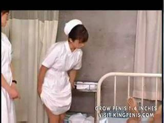 Japonské študent nurses výcvik a prax part1