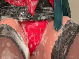 Lezzie mitra un meesy meitenes laizīšana bodies