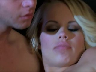 Stunning blonde britney young fucked hard