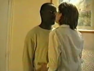 francuski, interracial, żona