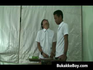 Amazing asian gay hardcore porn video