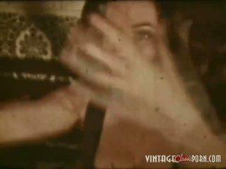 De epoca porno clip de la the 1960s