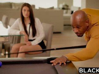 BLACKED Brunette Lana Rhoades First Big Black Cock <span class=duration>- 11 min</span>