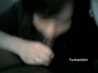 Tyrkisk jente & svart kuk (amateur ir)