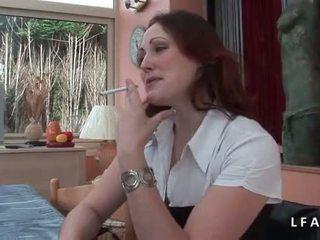 Jolie rousse francaise se fait defoncer le petit cul avant un bon pangmukha
