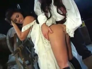Wench eva angelina takes o pirate prick în sus ei moist mic muffhole