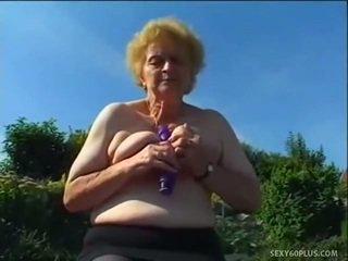 Vyzreté donna vnútri podkolienky has veľký joystick