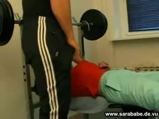 German gym sex