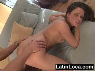 brunette, booty, spanish