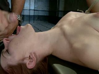 Melody Jordan Contorted In Severe Rope Bondage1