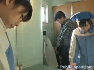 Asian Fucked On Toilet