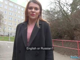 Publisks agent krievi shaven vāvere fucked par sīknauda