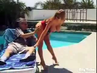 Darla crane titty fucks i sucks kutas outdoors