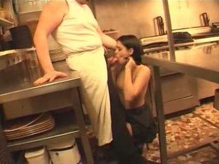 frans, meid, keuken