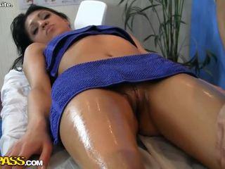 Watch Hot Girl Erotic Massage Scene
