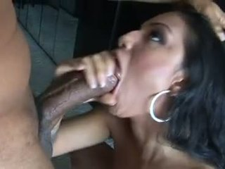 Sexy wild babe Ice La Fox takes her boyfriends cock in her scorching mouth