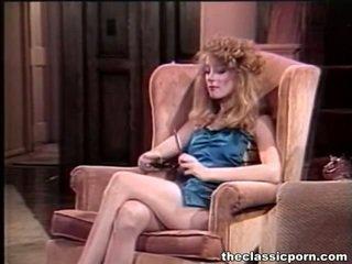 復古 絲襪 的陰戶 hardly 性交