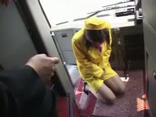 Japonesa adolescente autobús línea porno vídeo
