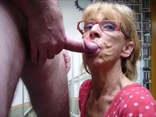 fellation, sperme dans la bouche, mamies