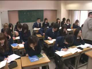 일본의, 청소년, 교실