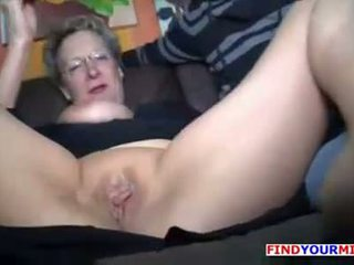 Fuck my old mother