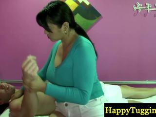 Verklig thailändska masseuse playthings stänga till zonker