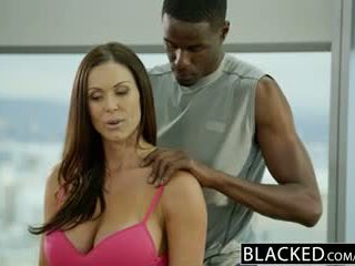 Blacked fitnes gagica kendra lust loves uriaș negru pula