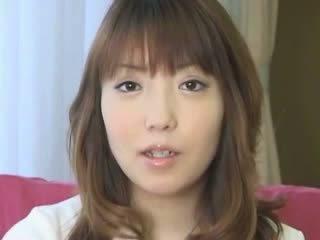 Attractive chick oriental preggo chick...