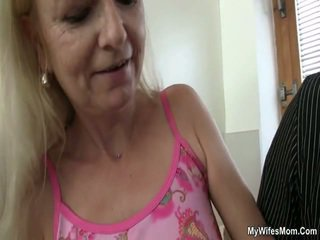 Régi anya loves fasz