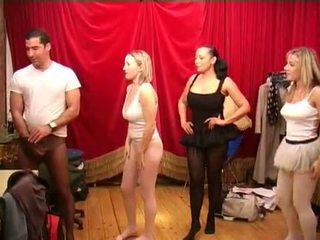 Collants antes o ballet