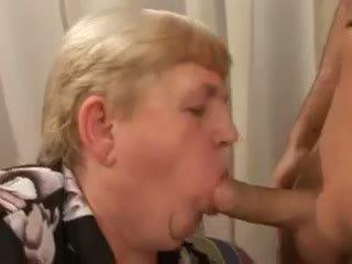 bbw, granny, blonde