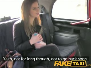 FakeTaxi Stunning brunette takes it from behind in taxi sextape - Porn Video 211