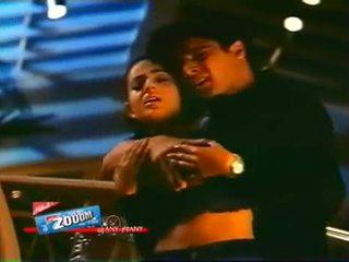 Bollywood Actress Amisha Patil Boob Pressed