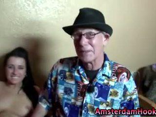 Naughty real amateur amsterdam slut