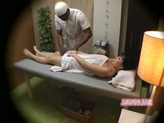 japonês, massagem, câmaras ocultas