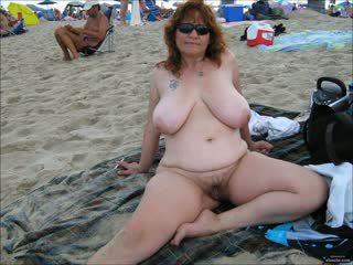 praia, grannies, amadurece