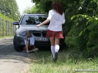Lola Reve Anal In The Forest