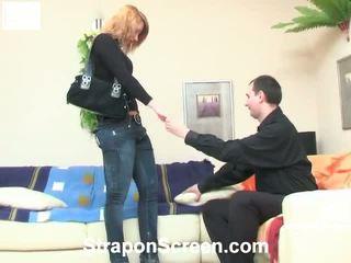 Melanie And Monty Erotic Strapon Vid