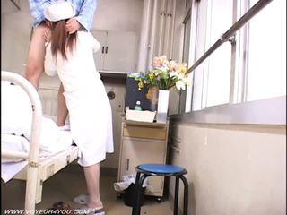 Lady Nurse And Old Farts Voyeur Sex