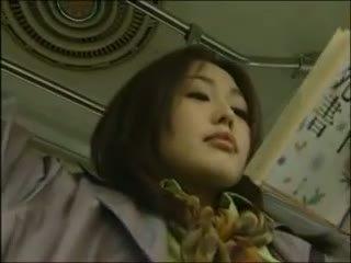 日本の, レズビアン, バス