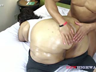 Big Butt BBW Geisha Grimm Works out with Ludus Adonis