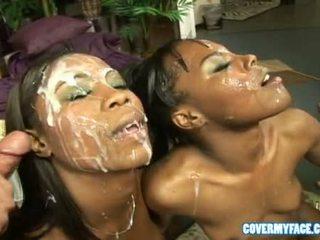 Women Suck Dicks And Get Cum On Their Face