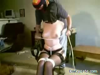 Painful marathon bondage treinamento meu sub vídeo