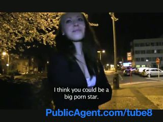 PublicAgent Movie extra gets fucked be...